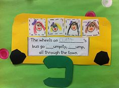 lots of cute name/color activities for the beginning of the year
