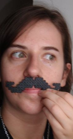 These mustache necklaces are the perfect costume accessory or cute addition to any outfit. What looks like a funky swirl can quickly become a mustache