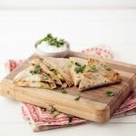 Grilled Cumin-Lime Zucchini Quesadilla: lots of great recipes on this site...Naturally Ella