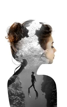 Double exposures by Nevessart , Alexis FOLLIOT https://www.artpeoplegallery.com/double-exposures-by-neves…/ More
