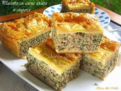 Beef Recipes, Cooking Recipes, Healthy Recipes, Puff Pastry Recipes, Antipasto, Good Food, Easy Meals, Food And Drink, Appetizers