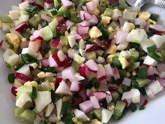 Pyszna sałatka do grilla! - Blog z apetytem Cobb Salad, Potato Salad, Grilling, Potatoes, Cooking, Ethnic Recipes, Blog, Salads, Kitchen