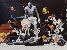 Famous Cartoons, Classic Cartoons, Funny Cartoons, Arte Banksy, Banksy Art, Graffiti, Cartoon Crossovers, Cartoon Characters, Ps Wallpaper