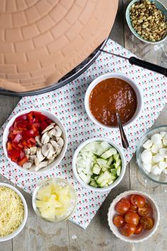 Pizzarette groenten topping pizza