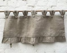 Linen Farmhouse Ruff