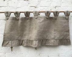 Linen Farmhouse Ruff