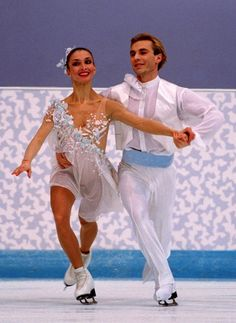 I actually think I own that dress... | The 30 Most Fantastic Ice Skating Outfits Of The '90s