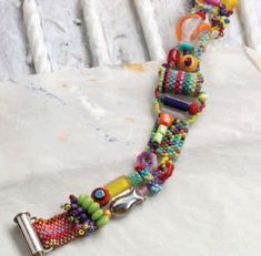 Need A Way To Use Up Some Leftover Beads? Try This Free Bracelet Making Project! - Daily Beading Blogs - Blogs - Beading Daily