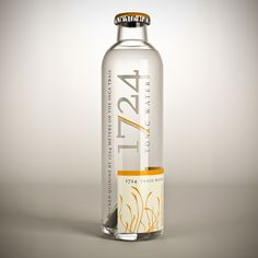 1724 Tonic Water, design by SeriesNemo