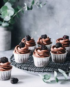 Cupcake Photography, Food Photography Tips, Cupcake Cake Designs, Cupcake Cakes, Muffins, Delicious Desserts, Yummy Food, Healthy Food, Sweet Cakes