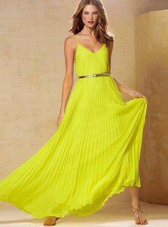 Wow really pretty yellow dress