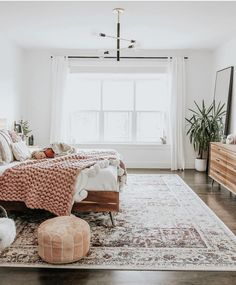 gorgeous boho living room inspiration - simple home design ideas Bedroom Inspo, Home Bedroom, Bedroom Ideas, Bedroom Designs, Light Bedroom, Mirror In Bedroom, Zen Master Bedroom, Adult Bedroom Decor, Winter Bedroom Decor