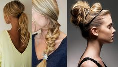 hairstyles for post workout to get back to work!!