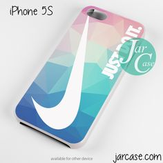 just do it geometric art Phone case for iPhone 4/4s/5/5c/5s/6/6 plus