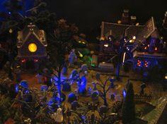 Dept 56 Halloween Village~graveyard scene