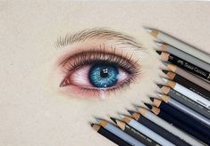 Crying Eye Drawing, Christmas Wallpapers Tumblr, Crying Eyes, Realistic Eye Drawing, Polychromos, Prismacolor, Drawings, Youtube, Inspiration