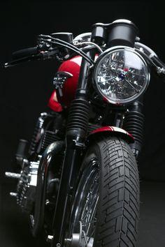 "gentlemansessentials: ""Cafe Racer Gentleman's Essentials "" Vintage Bikes, Vintage Motorcycles, Custom Motorcycles, Custom Bikes, Cars And Motorcycles, Ducati, Vintage Harley Davidson, Cafe Racer Motorcycle, Motorcycle Bike"