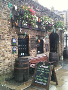 Brazen Head Pub,Dublin, Ireland. Oldest pub in Ireland, supposedly.