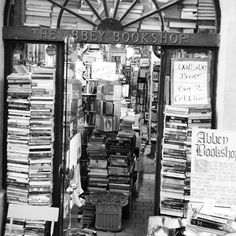 Bookshop Bucket List: The Abbey Bookshop - Paris France. Beauty has many forms especially in Paris. A messy pile of books is one of them... #bookshop #bookstore #bookstagram #bibliophile #literature #books