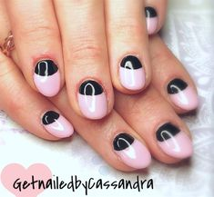 88 Best Half Moon Nail Art Images On Pinterest In 2018 Moon Nails