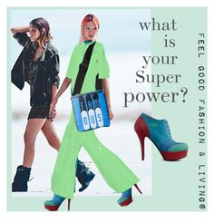 """What is your super Power?   My fashion Collection is made to feel Good""""              *See 100 more looks'        Feel Good Fashion & Living®    www.marijkeverkerkdesign.nl            Boho Girl Jumpsuit,,Boho Girl Sling Bag,  Boho Girl Italian Boots Shoes,"""