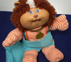 Cabbage Patch Kids Doll.Koosa.Gizmo.1983.Good Luck Charm. SALE Good Old Times, The Good Old Days, 80s Kids, Kids Toys, Right In The Childhood, Post Mortem Photography, 1980s Toys, 90s Cartoons, Vintage Dolls