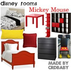 """Disney Room Mickey Mouse"" by crdbaby on Polyvore"
