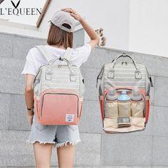 Mummy Maternity Large Capacity Nappy Bag Travel Backpack Nursing Bag for Baby Care Stroller Bag, Diaper Backpack, Baby Diaper Bags, Travel Backpack, Fashion Bags, Women's Fashion, Nurse Bag, Shoulder Backpack, Kids Bags