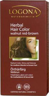 Hair Color Walnut Red-Brown Herbal
