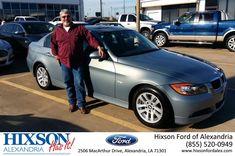 #HappyBirthday to Ernest  from Carl Stafford at Hixson Ford of Alexandria!  https://deliverymaxx.com/DealerReviews.aspx?DealerCode=UDRJ  #HappyBirthday #HixsonFordofAlexandria