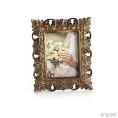 Distressed Mango Wood Frame @ serrv
