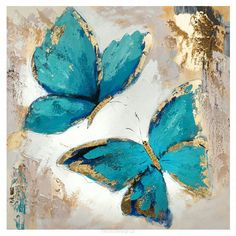 Oil Painting Classes Near MeNew to Diamond Painting? Diamond Painting Kits are the new hobby everyone is talking about!image of Arthouse Plaster Floral Canvas Wall Art Butterfly Canvas, Butterfly Painting, Blue Butterfly, Oil Painting Flowers, Simple Oil Painting, Oil Painting On Canvas, Painting Art, Oil Painting Background, Painting Abstract