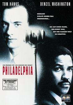 Philadelphia (1993) - Jonathan Demme. (cama note: oscar-worthy performance by Denzel Washington - he was robbed!!)