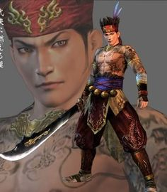 I miss my Pirate! They've changed him way too much since DW5. This will forever be the version of Gan Ning in my head, no matter the new ones (unless they bring back this design)