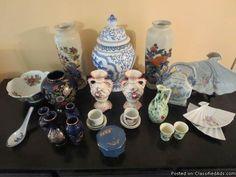 JM - 013 - Assorted Porcelain and Ceramic Pieces - Classified Ad
