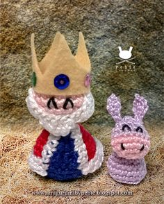 Funny Amigurumi by Pebie: New free pattern. Nativity set III: The Three Kings