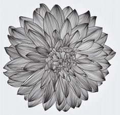 dahlia watercolor tattoo- I may be getting this in Austin this weekend!