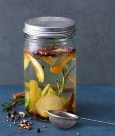 Homemade Gin - Rezept Rezept - [ESSEN UND TRINKEN]