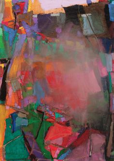 Jerald Melberg Gallery > Artists > Gallery Artists > Gallery Artists - Brian Rutenberg > Rutenberg - The Fading 6 Abstract Geometric Art, Abstract Images, Landscape Artwork, Abstract Landscape, School Of Visual Arts, Abstract Painters, Painting Abstract, Artist Gallery, Collage