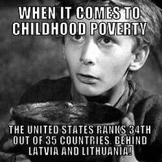 And yet the GOP is intent on slashing more programs that benefit children!  Vote BLUE!