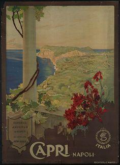 c.1930s Capri Napoli Naples Italy European by InterestingPhotos, $6.95