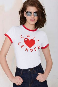 Lazy Oaf Cult Leader Tee #streetstyle