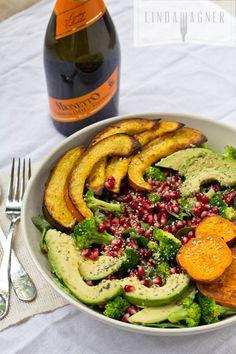 Holiday Roasted Vegetable Salad
