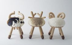 Love these animal-inspired stool by Takeshi Sawada -  15   First Look: The 9 Winners Of Fab's Latest Design Competition   Co.Design   business + design
