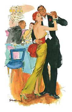 I could have danced all night.   1955 Gilbert Bundy