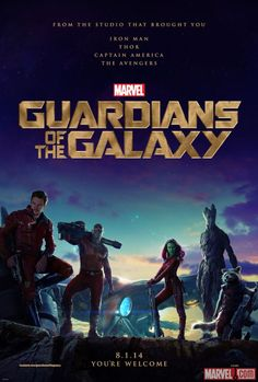 Marvel's #GuardiansoftheGalaxy one-sheet poster