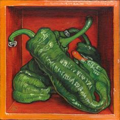 soothed by rainfall studios - Boxed Still Life: Pepper Series Be Still, Still Life, Guernica, Travel Illustration, My Friend, Stuffed Peppers, My Love, Studios, Illustrations