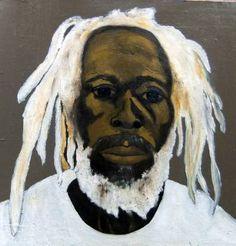 Original People Painting by Leon Nicholas Kalas Black History, Art History, Jamaican Rasta, Rasta Art, Oil On Canvas, Canvas Art, Afro Art, African Culture, Realism Art