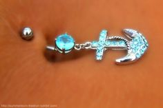 belly button ring. I have this one(; # Pin++ for Pinterest #