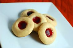 Delicious Cookies! My friend makes these and adds 1/2 ts almond extract, then dips in chocolate after baking! :)